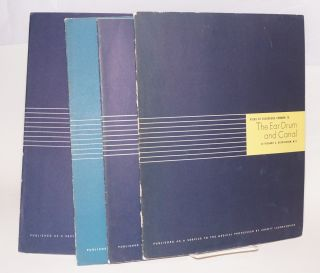 Six booklets on medical conditions published as a service to the medical profession 1. Some pathological conditions of the eye & Corneal grafting and the eye bank, 2.Histopathology of nervous tissue tumors, 3. Retinal pathology, 4. Atlas of common skin diseases, 5. The internal ear, 6.The ear drum and canal