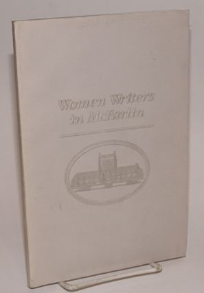 Women Writers in McFarlin Special Collections First series