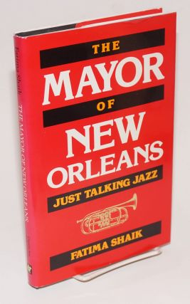 The mayor of New Orleans; just talking jazz. Fatima Shaik