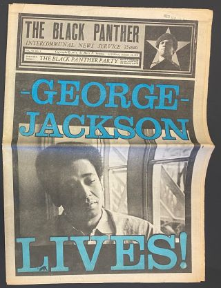 The Black Panther Intercommunal News Service vol. VII, no. 1, Saturday, August 28, 1971. George...