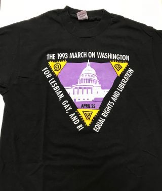 The 1993 March on Washington for Lesbian, Gay and Bi Equal Rights and Liberation / April 25...