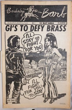 Berkeley Barb, vol. 7, no. 16 (#165), Oct. 11-17, 1968. Max Scherr, Spain R. Crumb