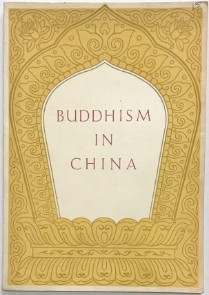 Buddhism in China. Chao P'u-ch'u