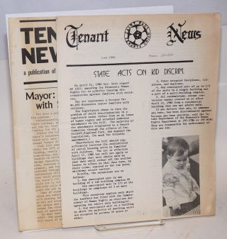 Tenant News [two issues: June, August 1980]. Saint Paul Tenants Union