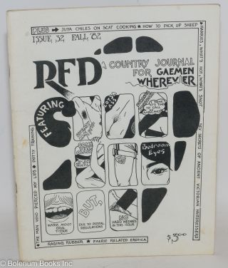 RFD: a country journal for gay men everywhere; #32 Fall 1982; Raging Rubber, Faerie related...