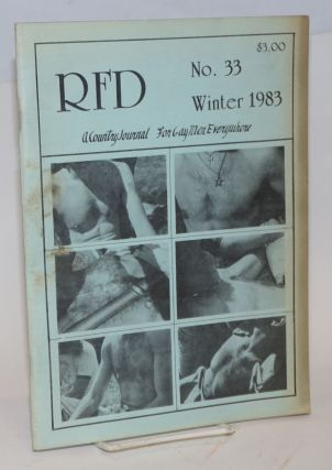 RFD: a country journal for gay men everywhere; #33 Winter 1983