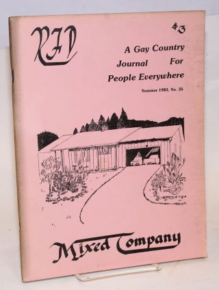 RFD: a country journal for people everywhere; #35 Summer 1983 [vol. 9, #4] Mixed Company