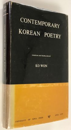 Contemporary Korean Poetry [inscribed and signed]