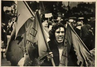 Photograph of UFW marcher