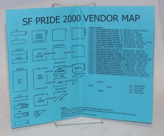 SF Pride 2000 Vendor Map