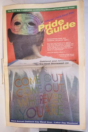 Official 1999 East Bay Pride Guide: The East Bay celebrates lesbian/gay/bisexual/transgender...