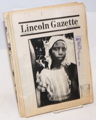 Lincoln Gazette [6 issues]