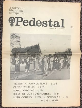 Pedestal: a women's liberation newspaper; Vol. 3 #4 (April, 1971) Victory at Raymur Place