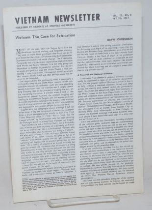 Vietnam Newsletter. Vol. II no. 6 (May 16, 1967