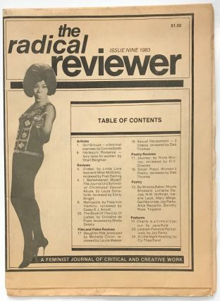 The Radical reviewer: A feminist journal of critical and creative work. No. 9