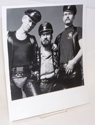 Photograph of three Leathermen of San Francisco