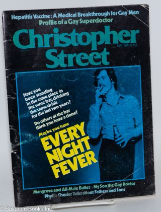 Christopher Street: vol. 2, #11, May 1978; Every Night Fever