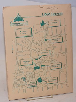 UNM General Library, Center for Southwest Research folder of materials