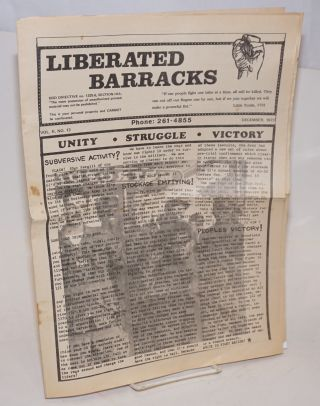 Liberated barracks. Vol. 2, no. 13 (December 1973