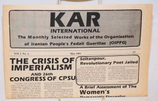 Kar International: The monthly selected works of the Organization of Iranian People's Fedaii...