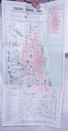 Seeing Greater Chicago by the Chicago Surface Lines. A Sightseeing and Route Guide