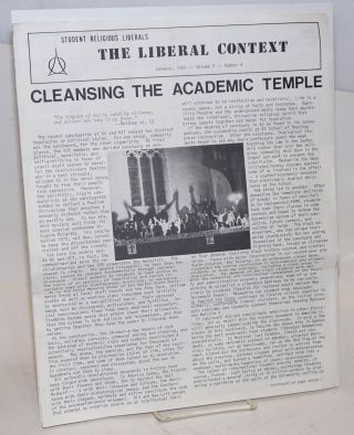 The Liberal Context. Vol. 9 no. 4 (January 1969