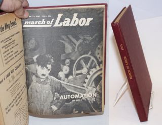 March of labor, national monthly magazine for the active trade unionist. Vol. 7, no. 1, January,...