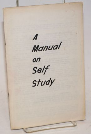 A Manual on self study