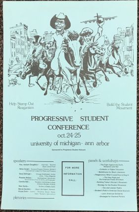 Progressive Student Conference. Oct. 24-25, University of Michigan - Ann Arbor [poster