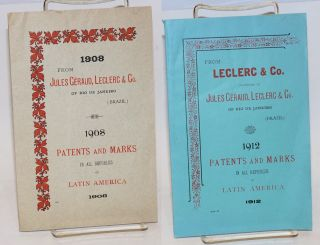 South-American General Patent Agency / 1908 / Jules Geraud, Leclerc & Co., Patent Agents. 116,...