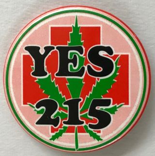 Yes 215 [pinback button