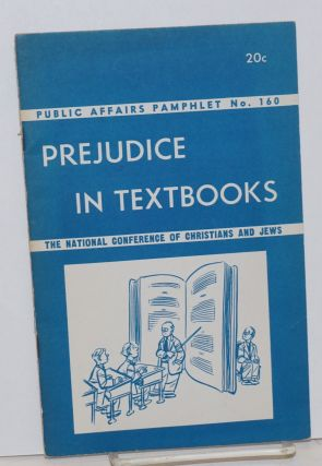 Prejudice in textbooks. Maxwell Stewart