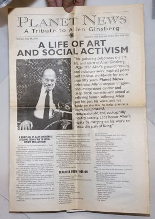 Planet news: a tribute to Allen Ginsberg, Thursday, May 14, 1998. Cathedral of St. John the...