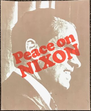 Peace on Nixon [poster