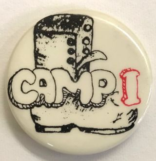 Boot] Camp I [pinback button