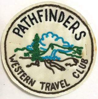 Pathfinders Western Travel Club [patch