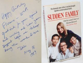 Sudden Family: The dramatic story of the event that brought together an international family. Debi Standiford, Steve, Nhi and Hy Phan, Nhi, Hy Phan.