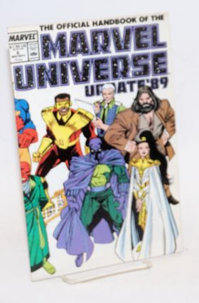 The Official handbook of the Marvel Universe: update '89 vol. 3, #6, Mid-November 1989
