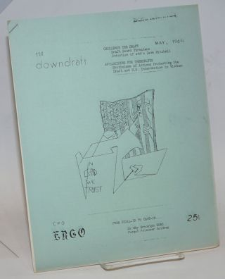 Ergo / Downdraft (May 1964). Committee for Peace Organization / End the Draft