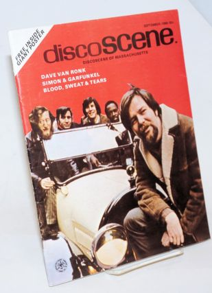 Discoscene of Massachusetts, Sept. 1968. Joey Harris, Dave Van Ronk