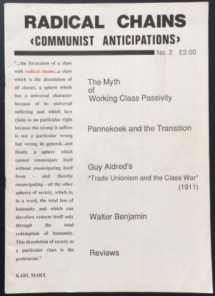 Radical Chains: communist anticipations. No. 2