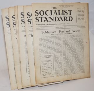 The Socialist Standard [12 issues] The Official Organ of the Socialist Party of Great Britain....
