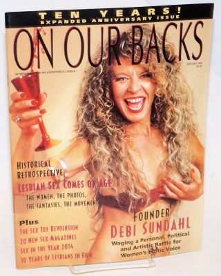 On Our Backs; entertainment for the adventurous lesbian vol. 11, #1, Sept/Oct 1994: Ten Years!;...