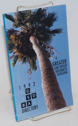 Greater San Diego Business Association 1992 directory