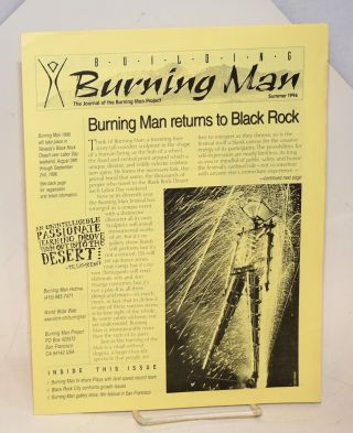 Building Burning Man: the journal of the Burning Man Project; Summer1996. Stuart Mangrum, Leo...