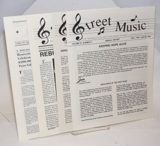Street Music: the newsletter for the Dolores Street Community Center; [four issues]