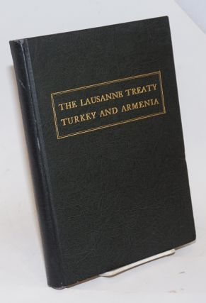 The Lausanne Treaty, Turkey and Armenia
