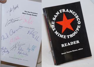 The San Francisco Mime Troupe Reader [signed]. Susan Vaneta Mason