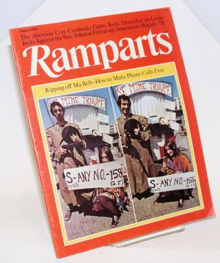 Ramparts volume 9, number 2, August 1970. Jan Austin, David Kolodney, David Horowitz, Sheila...