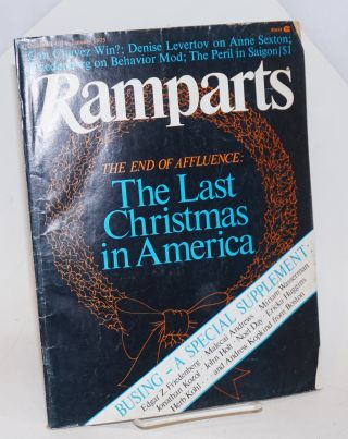 Ramparts volume 13, number 5, December 1974-January 1975. David Horowitz, Patricia Shell, David...